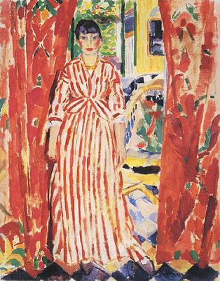 Rik Wouters: Red curtains