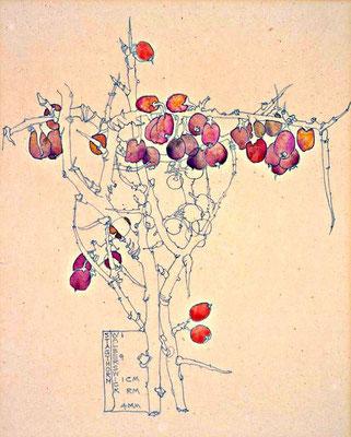 Charles Rennie Macintosh: Stagthorn