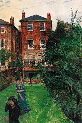 Carel Weight: The artist's garden
