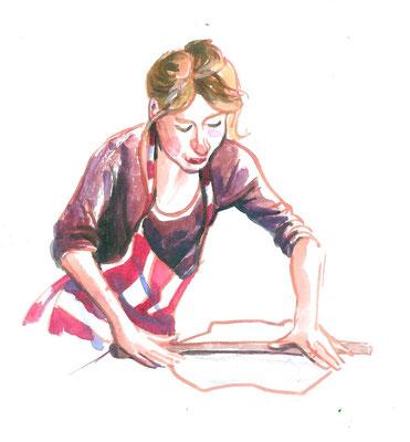 Annette Fienieg: de pottenbakster