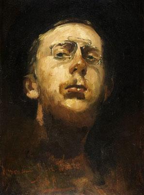 George Breitner: zelfportret