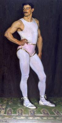 Arthur Kampf: De artiest