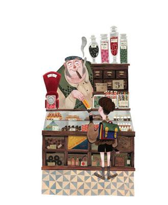 Júlia Sardà: Sjakie en de chocoladefabriek