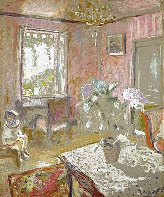 Edouard Vuillard, the pink bedroom