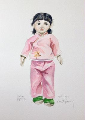 Annette Fienieg: Chinees poppetje, 9-6-2021