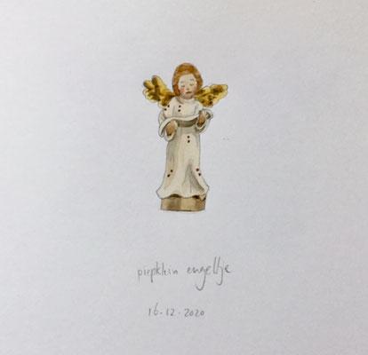 Annette Fienieg: Piepklein engeltje, 17-12-2020