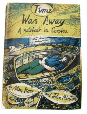 John Minton: Time was away, boekomslag