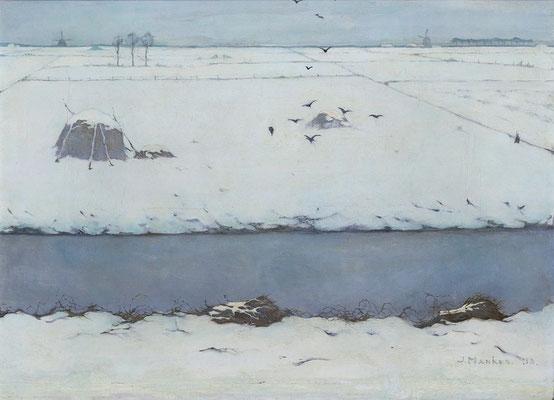 Jan Mankes: Winterlandschap