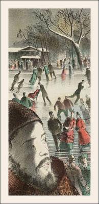 Barnett Freedman: Illustration for Ana Karenina