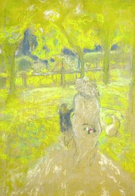 Edouard Vuillard: Studie voor 'Matin ensoleillé'