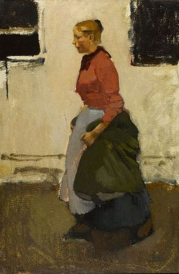 George Breitner: The washerwoman