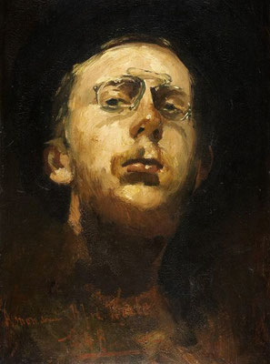 George Breitner: Self portrait