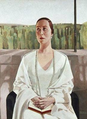 Felice Casorati: Portrait of Elisabeth Albrecht