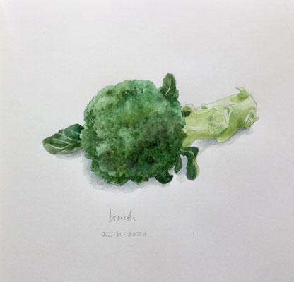 Annette Fienieg: Broccoli 22-10-2020