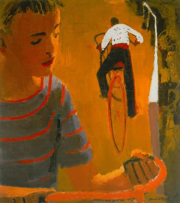 David Park: Boys on bicycles