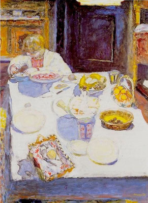 Pierre Bonnard: The table