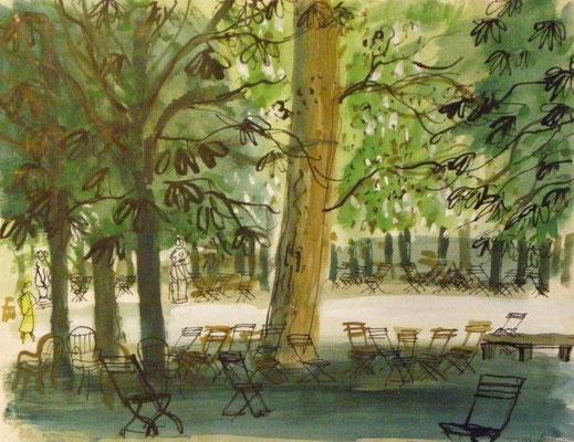 Jenny Dalenoord: Tuilerie gardens