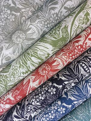 Mark Hearld: stof- en behang ontwerp
