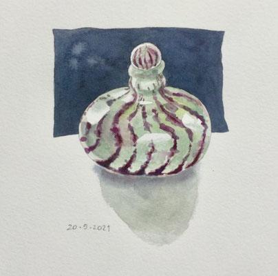 Annette Fienieg: Small Peter Layton bottle, 20-5-2021