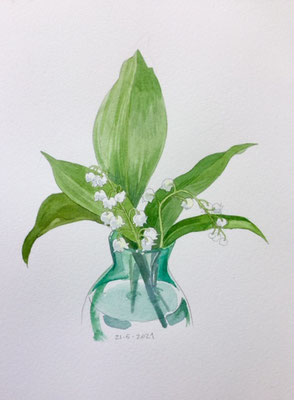 Annette Fienieg: Lily of the valley, 21-5-2021