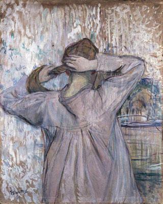 Henri de Toulouse-Lautrec: Het toilet