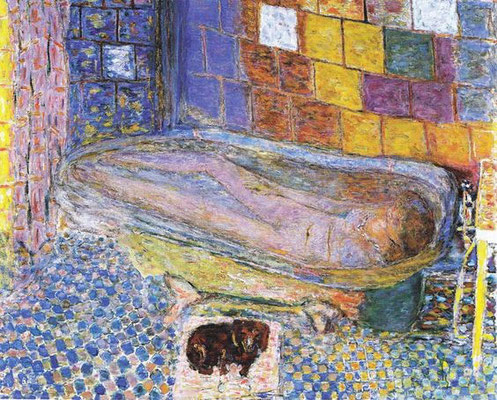 Pierre Bonnard: Nude in a bath