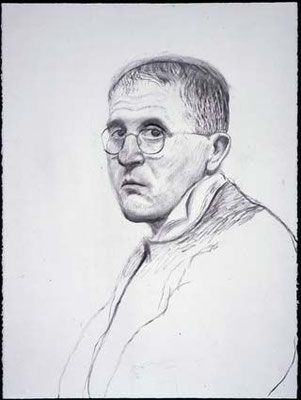 David Hockney: self portrait