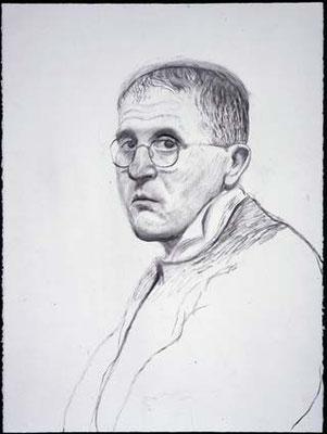 David Hockney: self portrait