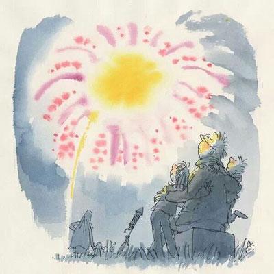 Quentin Blake: vuurwerk