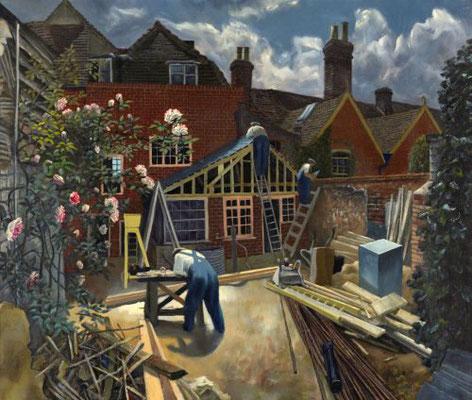 John Aldridge: Builders at work