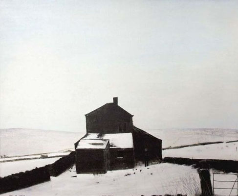 Peter Brook: Ruins in winter