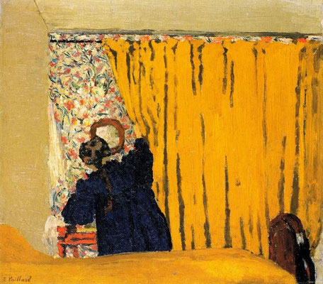 Edouard Vuillard: The yellow curtain