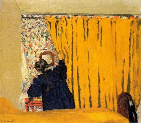 Edouard Vuillard: The yellow curtain