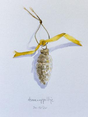 Annette Fienieg: Little pine cone, 30-12-2020