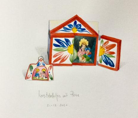 Annette Fienieg: Twee kerststalletjes uit Peru, 21-12-2020