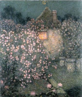 Henri Le Sidaner: The pavilion, Gerberoy