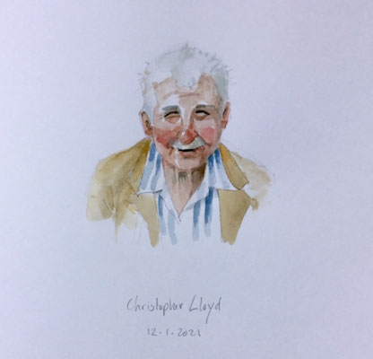 Annette Fienieg: Christopher Lloyd; 12-01-2021