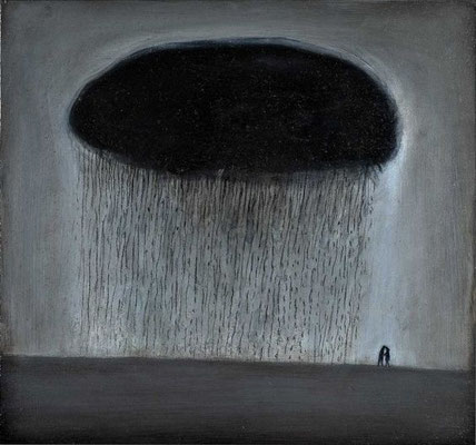 Richard Cartwright: Lovers with raincloud