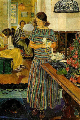Carl Wilhelmson: the waterlilie