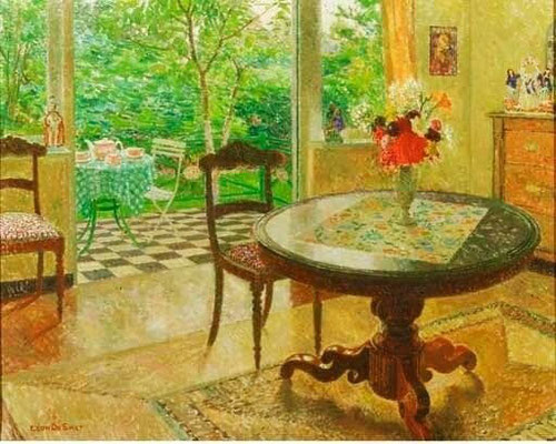 Léon de Smet: interior