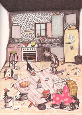 Kitty Crowther: Le grand desordre