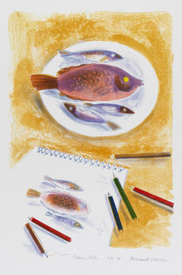 Bernard Cheese: Drawing fish
