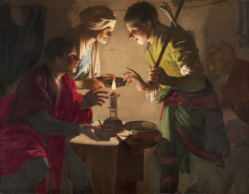 Hendrick ter Brugghen: Esau verkoopt zijn geboorterecht