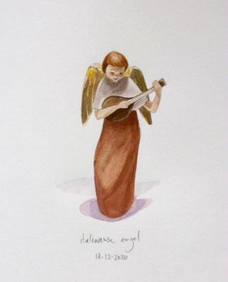 Annette Fienieg: Italian angel, 18-12-2020