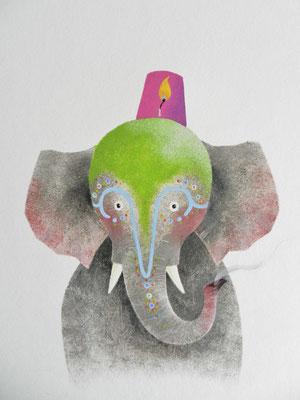 Annette Fienieg, from: Bij ons in het circus