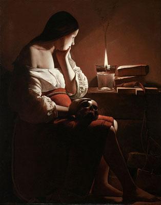 Georges de la Tour: Magdalena en de rokende lamp