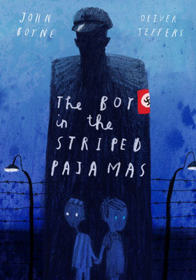 Oliver Jeffers: Omslag voor The boy in the striped pajamas