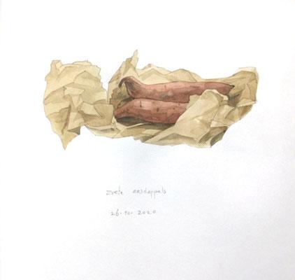 Annette Fienieg: Zoete aardappels, 26-10-2020