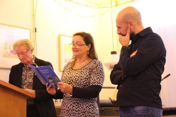 Len Borgdorff, Monique Hagen en Abdel Kader Benali