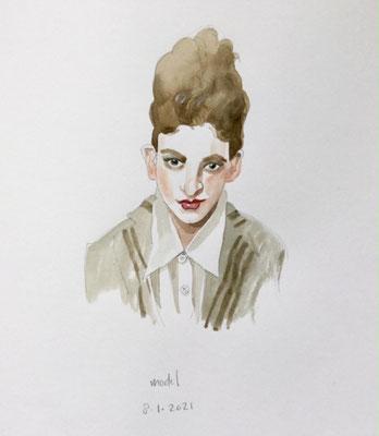 Annette Fienieg: Model, 8-1-2021